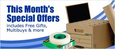 This months special offers