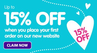up to 15% off online orders