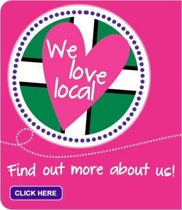 We love local!