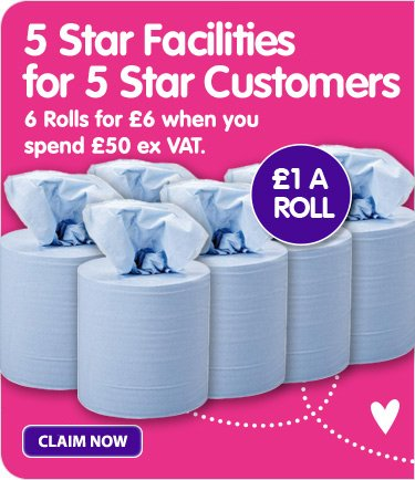 6 rolls for £6