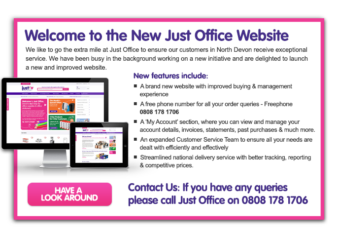 Welcome to the new Just Office Website