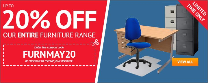 Up to 20% OFF Office Furniture!