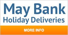 May Bank Holiday Deliveries