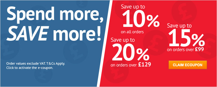 Spend n Save up to 20% off your order
