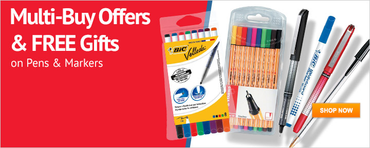 Great Offers on Pens & Markers