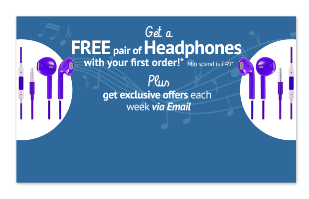 Free headphones
