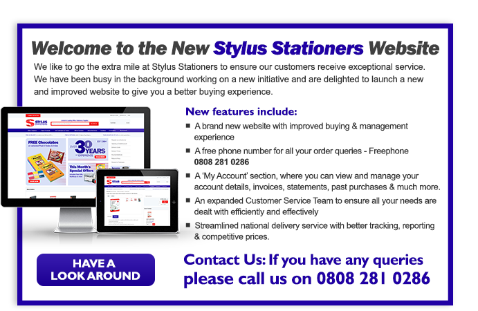 Welcome to Stylus Stationers