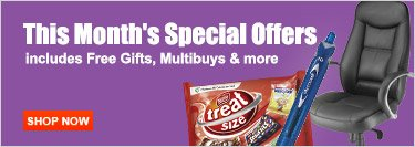 This month's Special Offers
