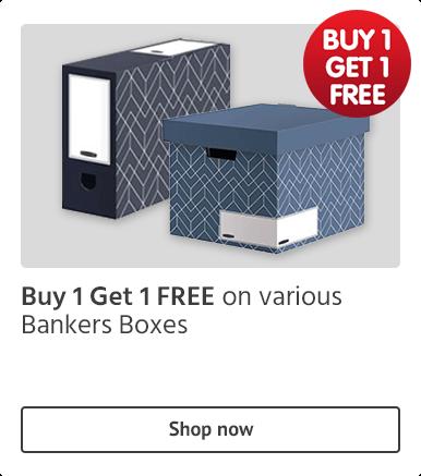 BOGOF Bankers Boxes offer