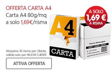 Carta A4 a 1,69€