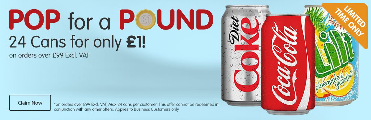 Pop for £1