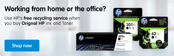 HP BANNER - Ink & Toner Slot 1