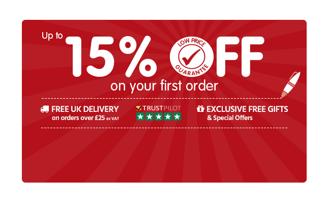 Up to 15% Off your first order