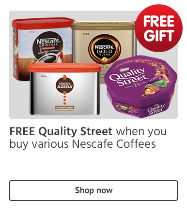 Free Quality Street with Nescafe Coffees
