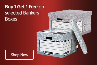 Bankers Boxes 2 for 1
