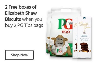 PG-Tips-Elizabeth Shaw Biscuits