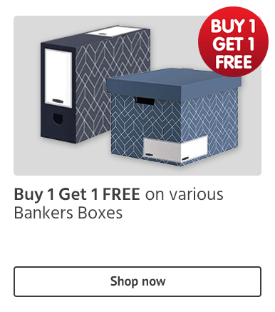 BOGOF Bankers Boxes offer