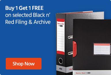 Buy 1 Get 1 FREE on Black 'n Red