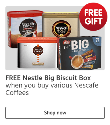 Free Gift on Nescafe