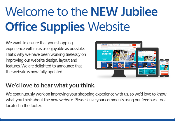 Welcome to the NEW Jubilee Office Supplies Website