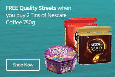 Nescafe FREE Quality Street Chocolates