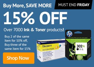 Ink and Toner Price Breaks