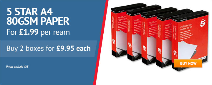 A4 Printer Paper for £1.99 per Ream