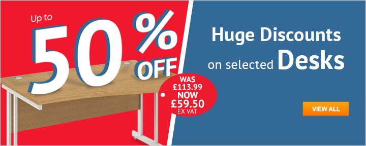 Huge Discount on Desks
