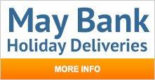 May Bank Holiday Deliveries