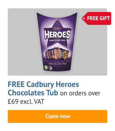 Free Cadbury Heroes