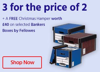 Bankers box 3 for 2