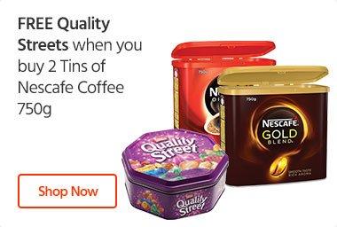 Nescafe FREE Quality Street Chocolates